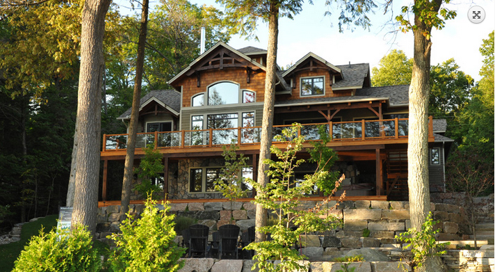 Discovery Dream Homes Log Timberframe