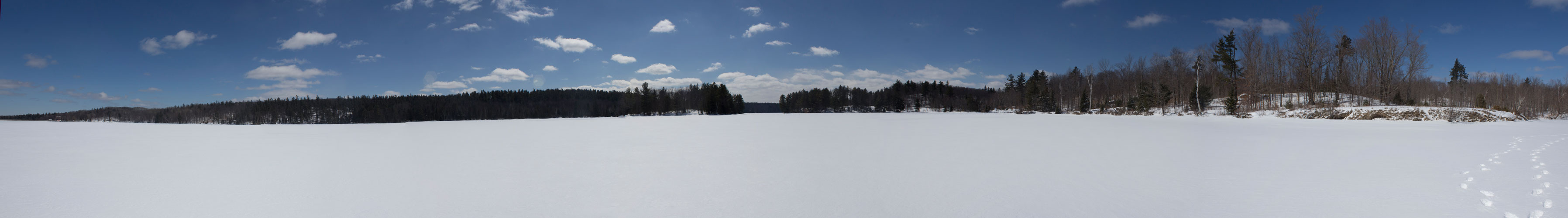 Panorama View of Madawaska River